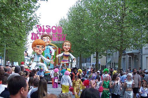 Cavalcades de pentecôte à Parthenay en 2008