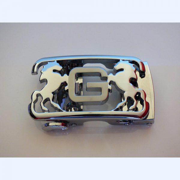 Boucle automatique Cheval Royal Argent
