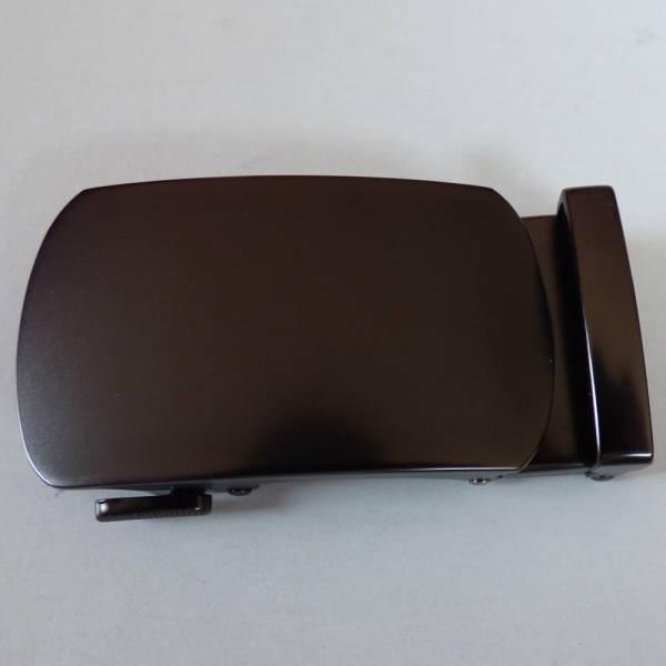 Boucle de ceinture à graver couleur bronze mat ovalisée