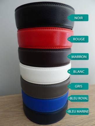 Lanières de ceintures