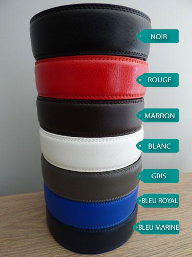 Lanières de ceinture