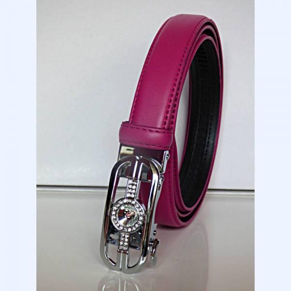 Ceinture automatique pour femme fashion bijou pin'up pink