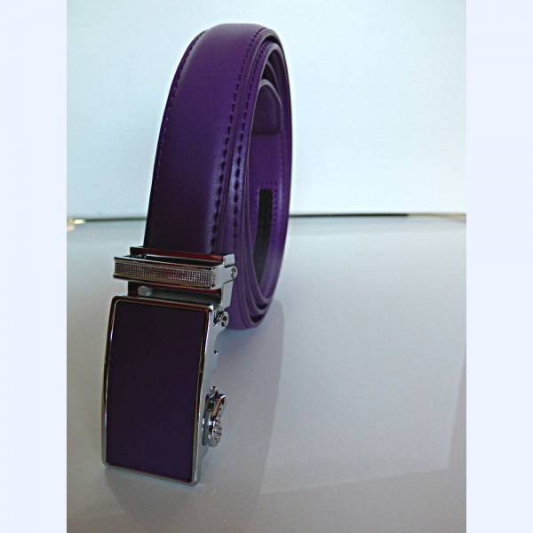 Ceinture automatique pour femme, modèle 'Light' - Couleur violette