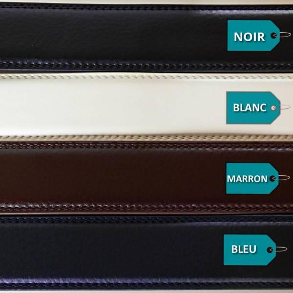 Lanières de ceinture largeur 3 et 3,5cm