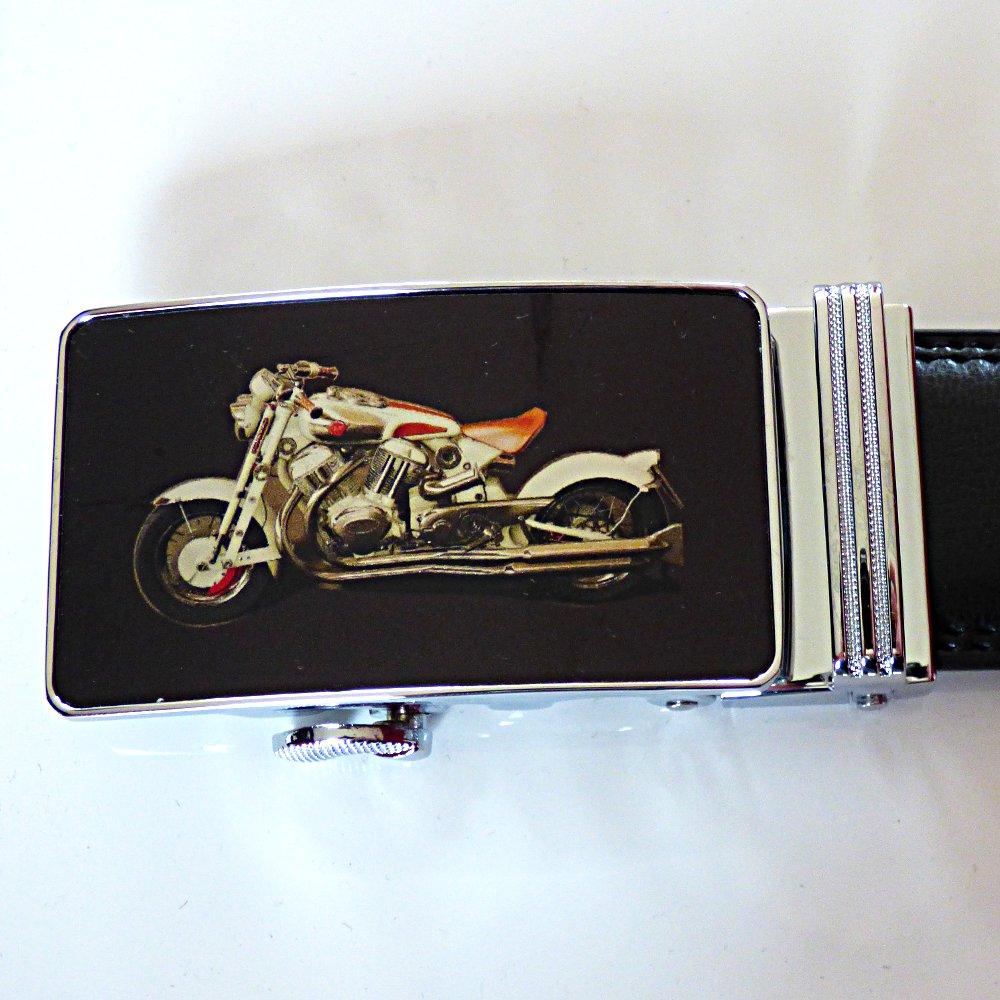 Coup de coeur    Ceinture avec boucle au motif moto en couleur d8f2203d3aa