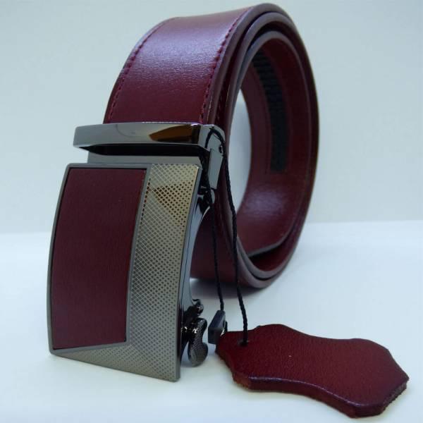 Ceinture automatique en cuir, modèle Bordeaux Prestige
