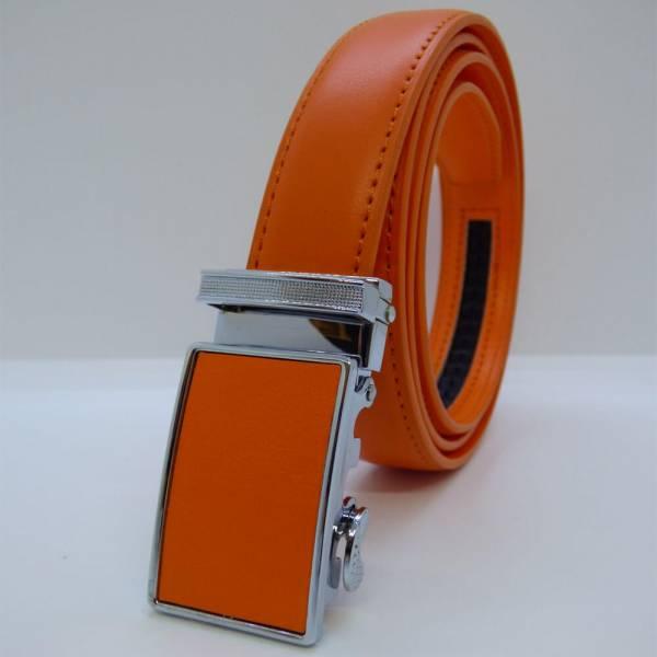 Ceinture automatique pour femme, lady orange
