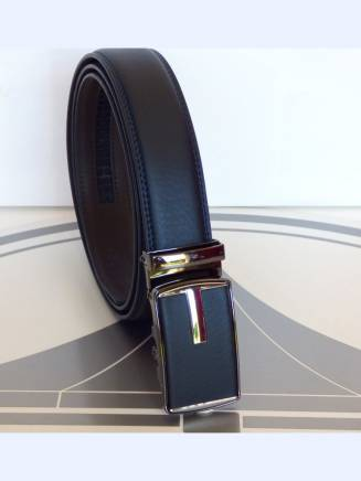 Ceinture automatique elegance business 2 bleue