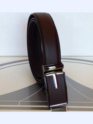 Ceinture automatique elegance business 2 marron