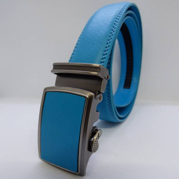 Ceinture automatique Tendance Bleu azur