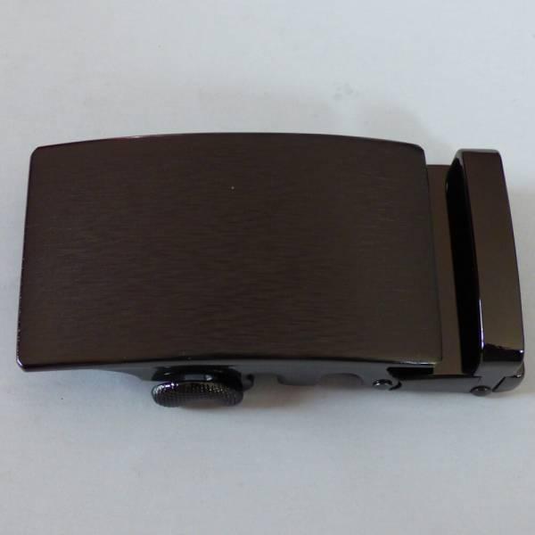 Boucle de ceinture à graver bronze brossé