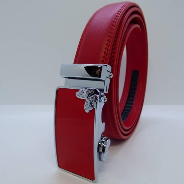 Ceinture automatique Papillon Rouge