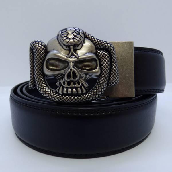 Ceinture automatique modèle Skull Cobra