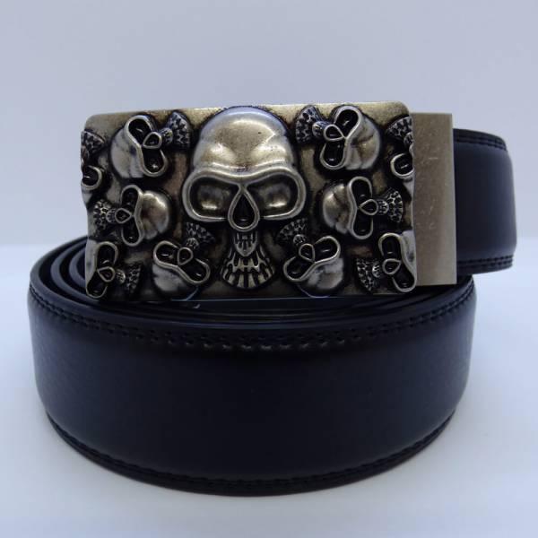Ceinture automatique modèle Skull Head