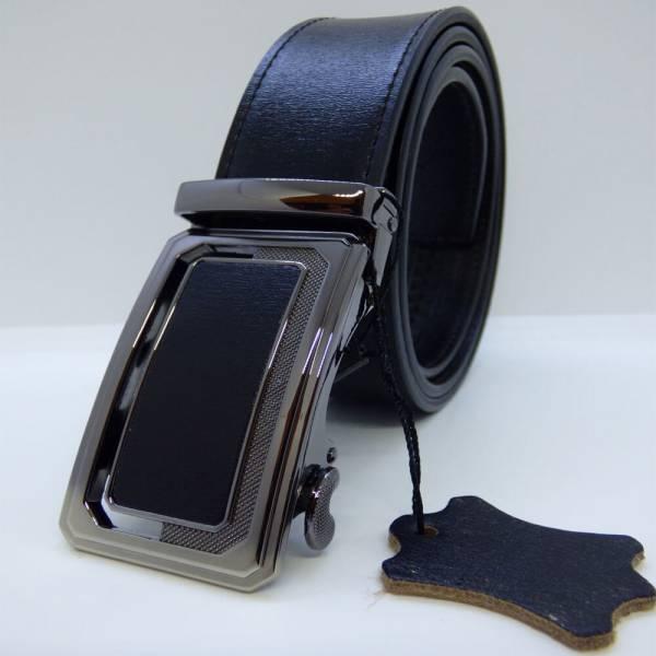 Ceinture automatique en cuir Noir Prestige