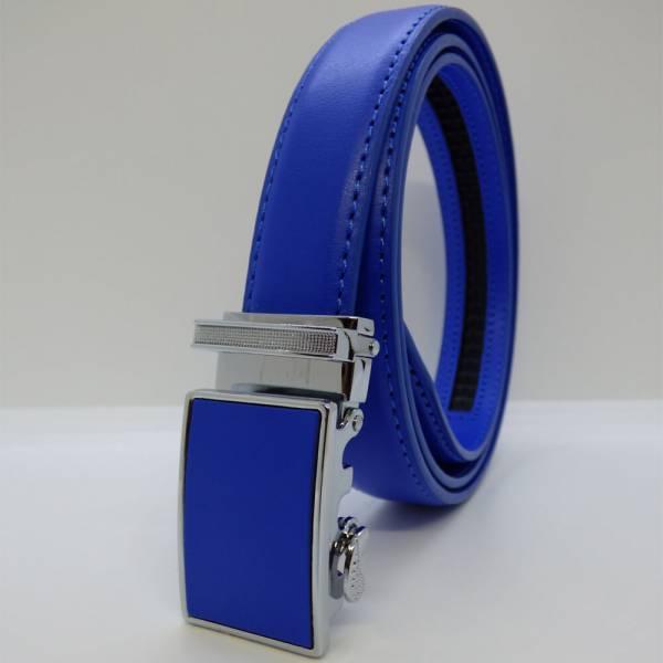 Ceinture automatique Lady 2.2cm bleu royal