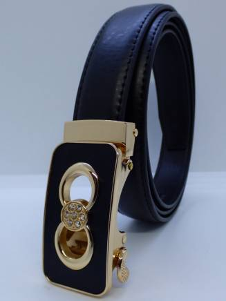 Ceinture automatique femme fashion strass ovalisee