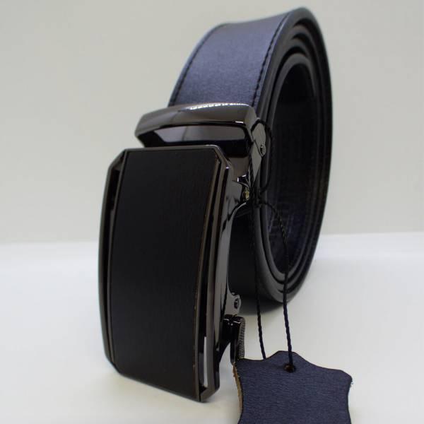 Ceinture automatique en cuir Noire Prestige